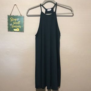 Zara High Neck Mini dress